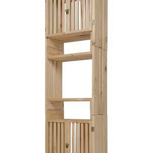 Torre 50, 3 niveles, con 2 puertas